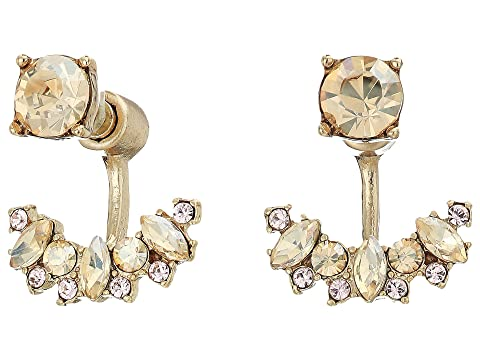 Marchesa Small Stone Floater Earrings