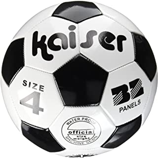 Kaiser(カイザー) PVC サッカー ボール 4号 KW-140 小学生用 練習用 レジャー ファミリースポーツ
