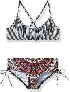 Billabong Girls' Boho Babe Tali Two Piece Swimsuit Set
