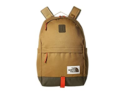 The North Face Daypack (British Khaki/New Taupe Green) Backpack Bags