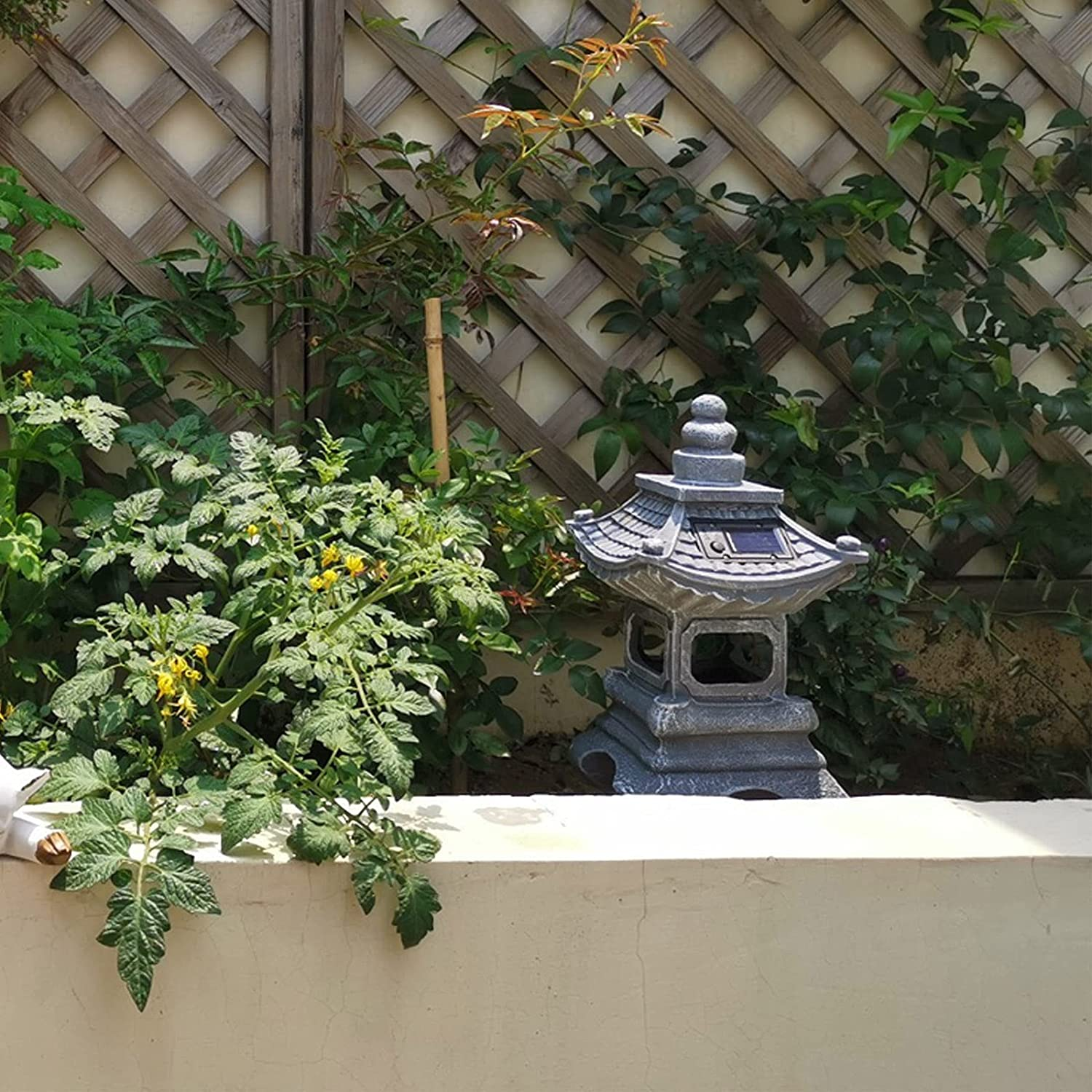 AI-GMJO Solar Light Waterproof - SEAL limited Beauty products product Garden Outdoor Decor 34cmx17cm