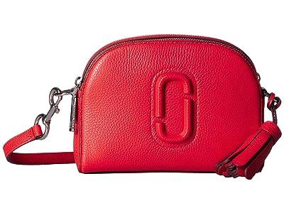 Marc Jacobs Shutter Crossbody (Geranium) Handbags
