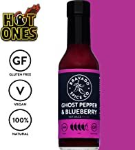 Bravado Spice Ghost Pepper and Blueberry Hot Sauce | Hot Ones Hot Sauce | Gluten Free | Vegan | All Natural