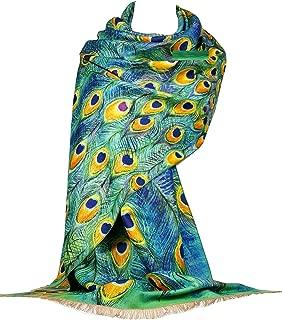 GFM /écharpe dans le style pashmina coquelicot floral POPPASH