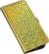 QPOLLY skyddsskal för Huawei Honor 7A skal diamant läder strass bling väska läder flip case 3D glitter glänsande färgglad ...