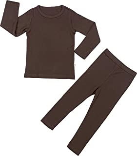 Baby Boys Girls Pajama Set Kids Toddler Snug fit Basic...