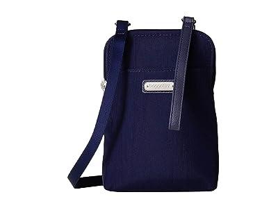 Baggallini New Classic Take Two RFID Bryant Crossbody (Navy) Handbags