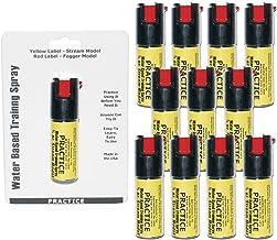 Inert Pepper Spray Practice Bundle - Lot of 12 - Inert Practice Pepper Spray units