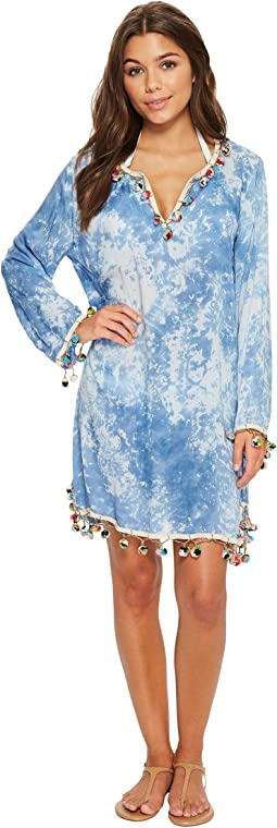 Bindya - Tie-Dye Long Sleeve Tunic