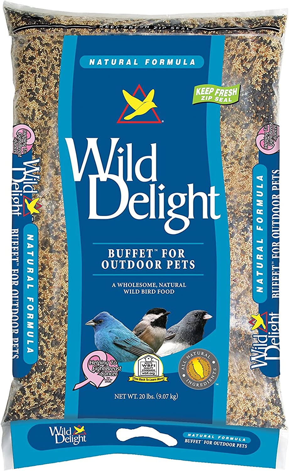 D & Commodities Ltd Wild Delight 391200 Buffet Poly Bag for Bird, 20Pound
