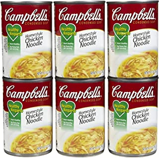 Campbell's Healthy Request Homestyle Chicken Noodle Condensed Soup - 10.5 oz - 12 ct