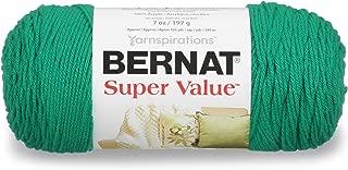 Bernat  Super Value Yarn, 5 oz, Kelly Green, 1 Ball