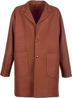 Outfit Cappotto Classico Uomo Monopetto, Quadri, Lana, Bottoni, Cammello