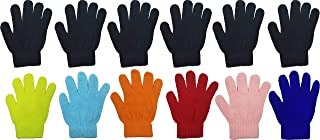 Kids Winter Magic Gloves, 12 Pairs Warm, Cute, Colorful,...