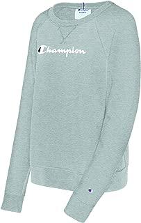 Champion Womens Heritage French Terry Crew Long Sleeve Sweatshirt