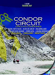 Condor Circuit trekking map 1:50,000