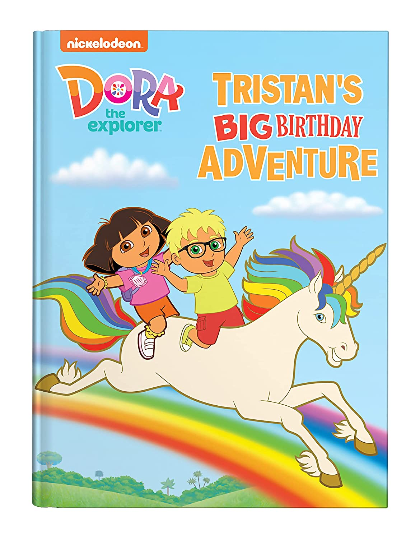 Dora The Explorer Personalized San Francisco Mall Book: Big Adventure Birthday Easy-to-use Lar