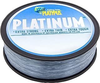 Platypus Platinum - World's Best Fishing Line Since 1898! (Grey)