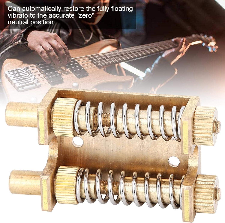 Eulbevoli Sistema de Puente de trémolo, estabilizador de Resorte de Guitarra, Puente de Juego, armonía, Sonido de Ritmo Agresivo o Cuerdas de Silencio con trémolo para Guitarras