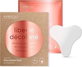 NEW Silicone care Premium Décolleté Pad with Hyaluron! Original APRICOT Product, made in Germany. First anti wrinkle chest Pad with ingredients! Efficacy clinically proven! medical grade silicone