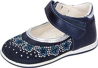 MKids Ballerine Bambina Pelle Blu