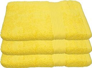 Linens Limited Drap de Bain 100/% Coton Turc Jaune Citron