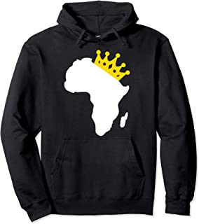Africa African Map Queen Black Pride Melanin Hoodie Gift