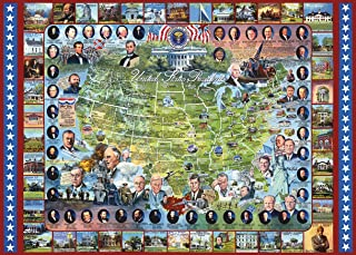 White Mountain Puzzles US Presidents - 1000 Piece Jigsaw Puzzle