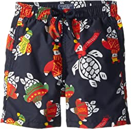 Sweater Turtles Swim Trunk (Toddler/Little Kids/Big Kids)