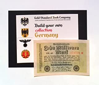 1923 Germany Weimar Republic 10 Million / 10.000.000 Mark Banknote