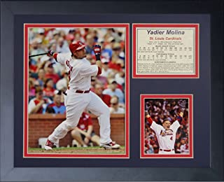 Legends Never Die Yadier Molina Framed Photo Collage, 11 x 14-Inch
