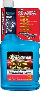 Star Tron Enzyme Fuel Treatment Concentrate - Rejuvenate & Stabilize Old Gasoline, Cure Ethanol Problems, Improve MPG, Red...