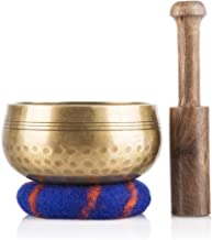 Tibetan Singing Bowl Set — Meditation Sound Bowl Handcrafted in Nepal for Healing and Mindfulness