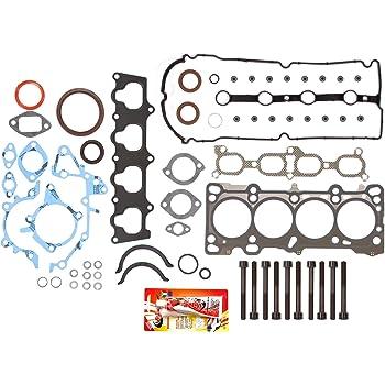 Head Gasket Set Bolt Kit Fits 99-01 Mazda Protege 1.6L DOHC 16v