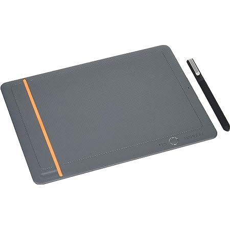 ワコム Wacom Bamboo Slate S A5対応 ミディアムグレー スマートパッド 電子ノート ボールペンで紙に書いてデジタル化 スマホ タブレット対応 CDS610S