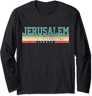 Jerusalem Israel Long Sleeve T-Shirt