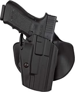 Safariland 578 Pro-Fit GLS (Grip Lock System) Paddle and Belt Loop Long Holster Glock 17L, 24, 34, 35, S&W M&PL C.O.R.E. Polymer