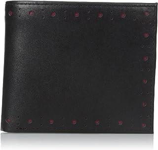 穴があいたブラックブローグ財布とコイン財布by Fred Perry