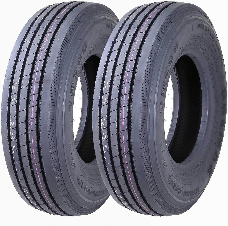 Set Finally resale start of 2 Fashion New Greamx All Steel ST235 Trailer Tires 14PR RV 80R16