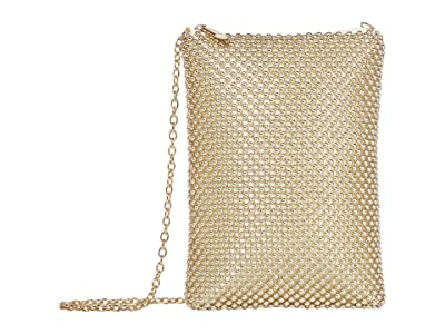 Jessica McClintock Gina (Light Gold) Clutch Handbags