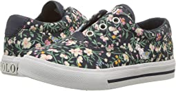 Navy/Multi Floral Canvas
