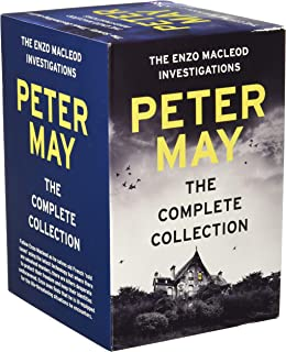 Peter May Collection Enzo Files Series 6 Books Box Set (Extraordinary People, The Critic, Blacklight Blue, Freeze Frame, Blowback, Cast Iron)