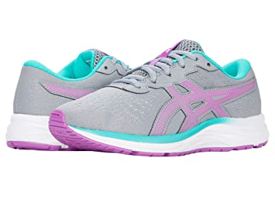 ASICS Kids GEL-Excite 7 (Little Kid/Big Kid) (Sheet Rock/Orchid) Girl