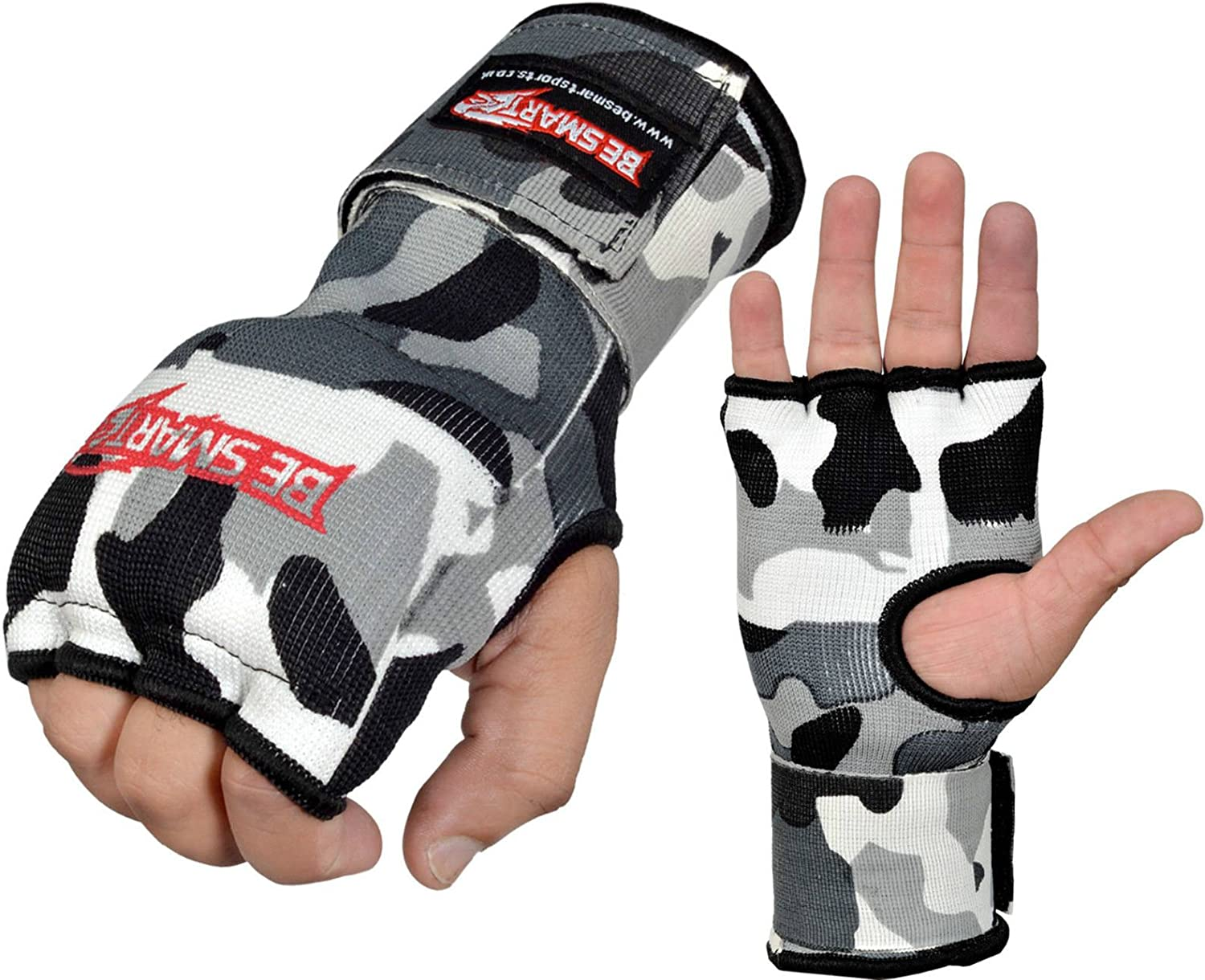 Robust Inner Boxing Gloves Hand Fist Wraps Gel Padded MMA Training All Sizes