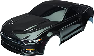 Traxxas Black Painted Ford Mustang GT Body (1: 10 Scale) Vehicle