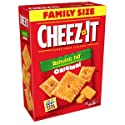 Cheez-It Baked Snack Cheese Crackers, Reduced Fat, Original, Family Size, 19 oz Box
