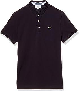[ラコステ] ポロシャツ [公式] コントラストマオカラーデザインポロシャツ (半袖) メンズ PH9864L