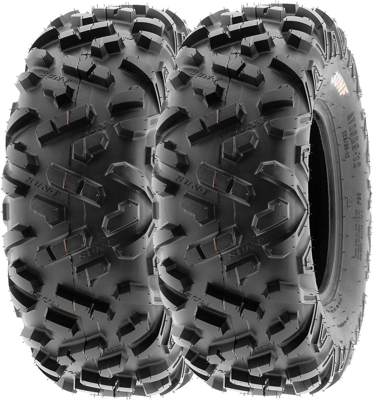 SunF 25x8-12 25x8x12 ATV UTV Tires 6 POWER II A051 Max 57% Fresno Mall OFF Tubeless PR