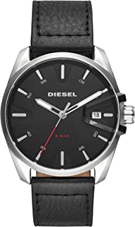 Diesel MS9, Men's Analog Watch, DZ1862 - Black