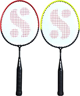 Silver's KIDS SIL-PEDAL COMBO-4 Aluminium Badminton Racquet, Pack of 2
